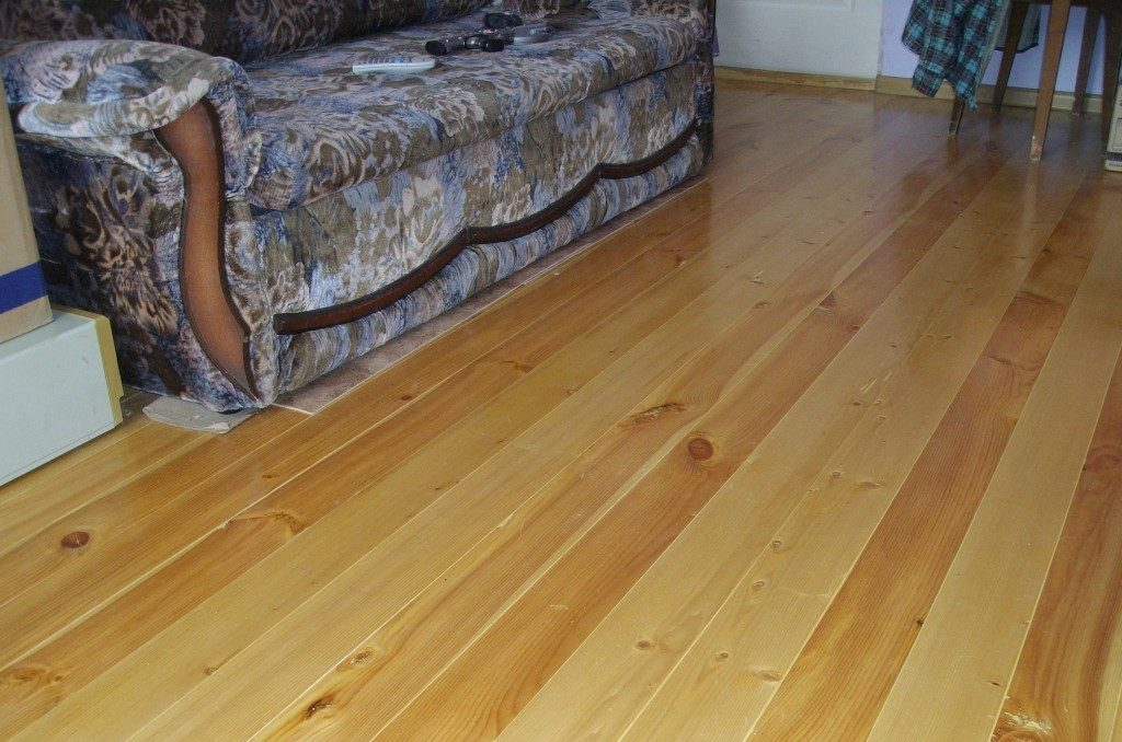 деревянный пол дома