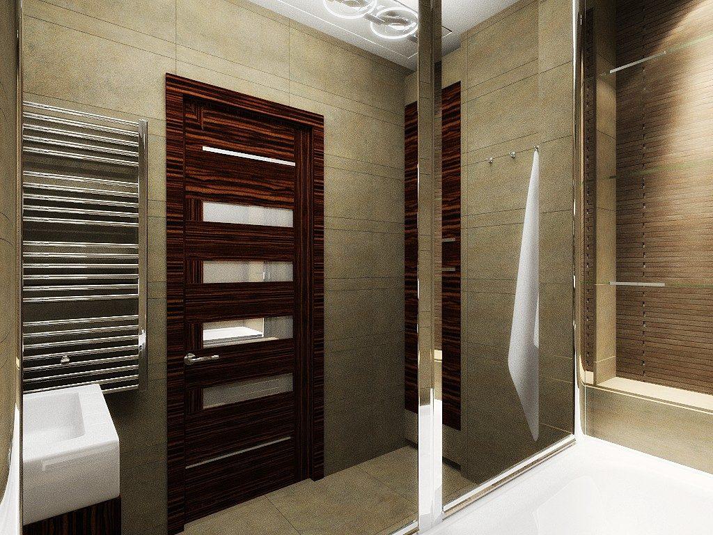 Подъездная дверь в ванную