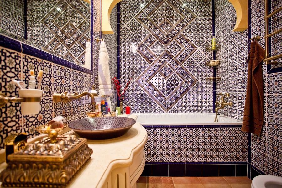 плитка с марокканской мозаикой